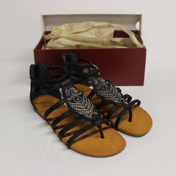 6ff3574a9f5 SO Shoes - SO Guppy Women s Gladiator Sandals - Black